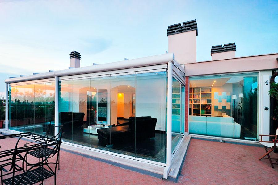 Acristalamiento de terrazas cristaler a b rcena for Acristalamiento de terrazas precios