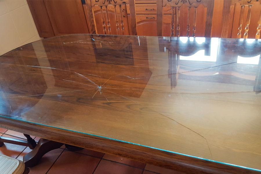Cristales para mesas cristaler a b rcena - Cristales para mesa ...